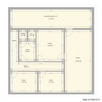 Etage dan2 plan 9 pi ces 83 m2 dessin par dancoach for Appart maison alfort