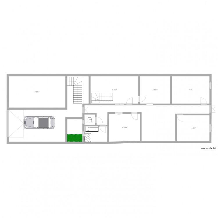 Ma maison enzo plan 8 pi ces 169 m2 dessin par attig2 for Je dessine ma maison