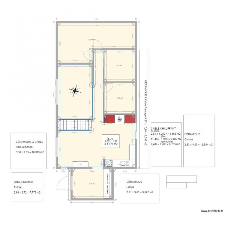 plan maison 2d avie home. Black Bedroom Furniture Sets. Home Design Ideas