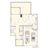 plan maison beaumont rdc