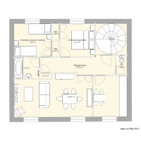Plan appartement Messimy
