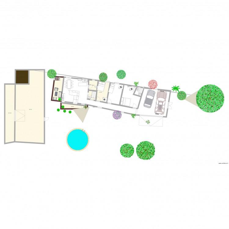 La maison de mes r ves minimum plan 7 pi ces 140 m2 for Dessine mes plans de maison