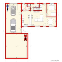 plan modifie maison holques