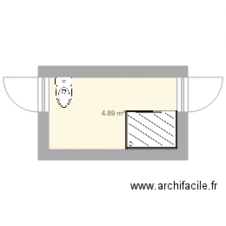 La Vigne Plan 1 Pi Ce 5 M2 Dessin Par Ductair