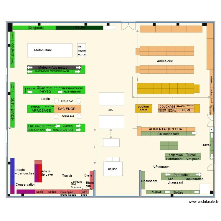 Doullens v3 plan 1 pi ce 775 m2 dessin par sicap for Piscine doullens