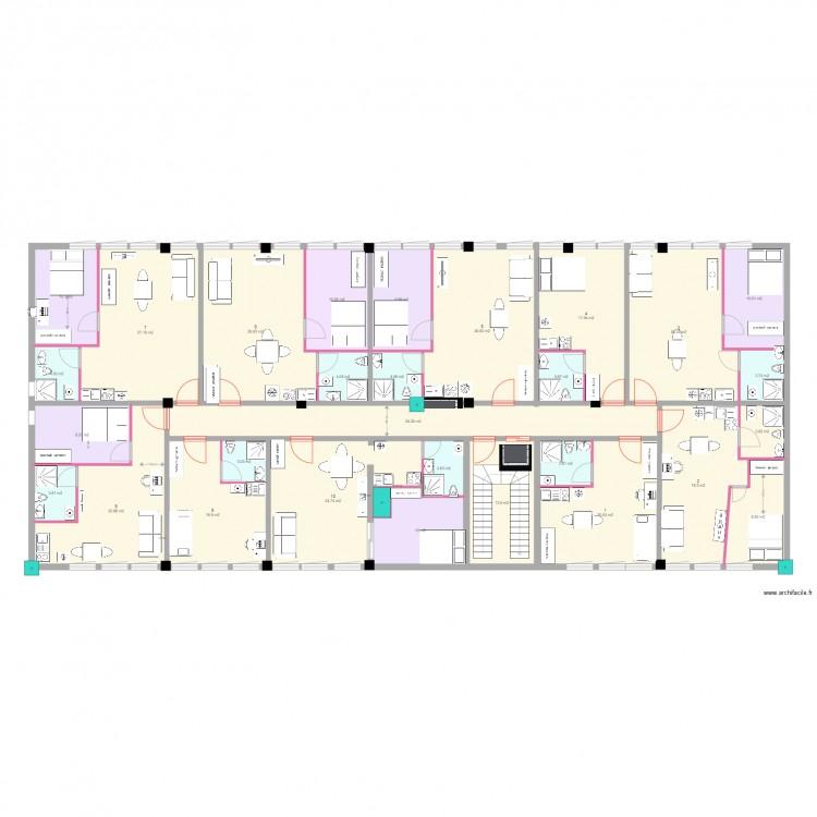 Jacob mayer 7 juillet 2016 avec cotation piece plan 29 for Plan maison avec cotation