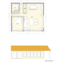 Plan extension salon 5