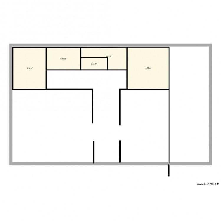 Nieul sur mer plan 5 pi ces 40 m2 dessin par laurafossey for Garage ad nieul sur mer