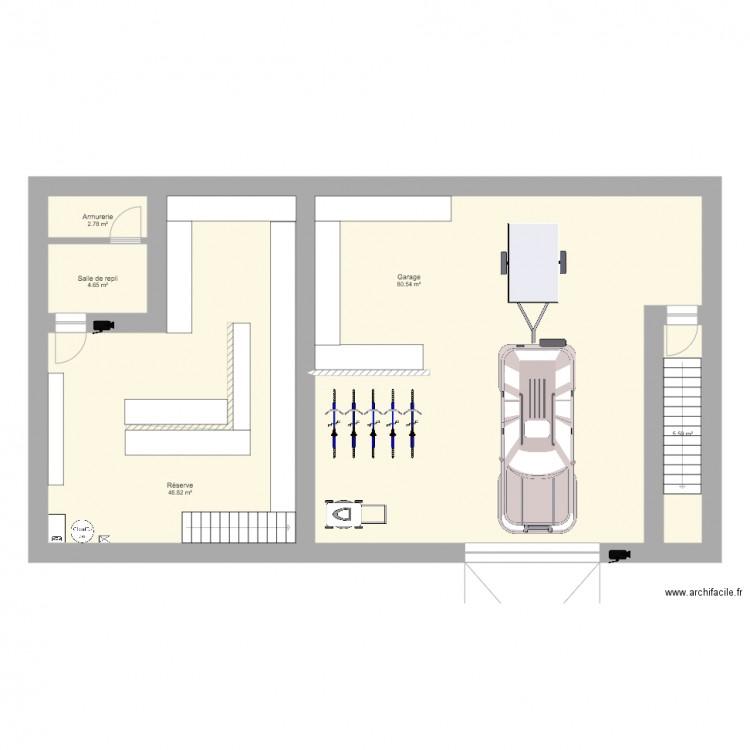 Maison plan 5 pi ces 140 m2 dessin par quentin - Consommation electrique moyenne maison 140 m2 ...