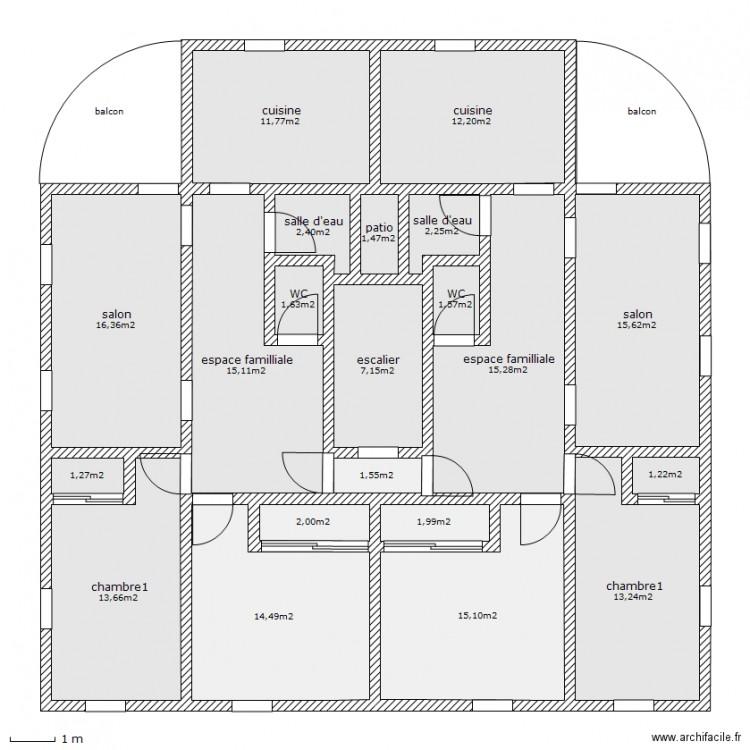 plan facade 150m2 dakar maison moderne