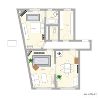 Plan appartement version Jo