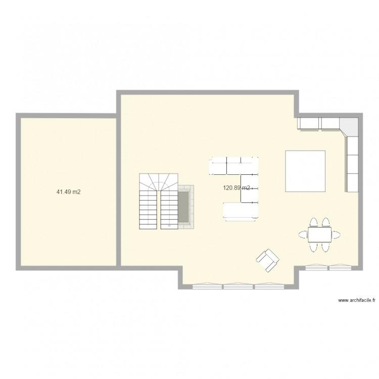 Maison boucher milot plan tage 1 plan 2 pi ces 162 m2 for 162 plan