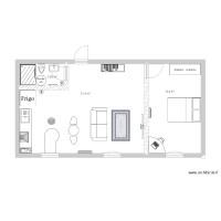 Plan Maison Et Appartement De 3 Pièces De 46 à 50 M2