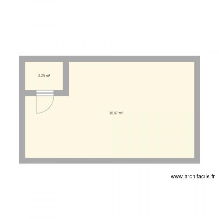 Test plan 2 pi ces 33 m2 dessin par amineaza for Table 6 2 ar 71 32