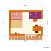 plan bungalow MAGNENAT