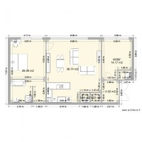plan appartement 90m2