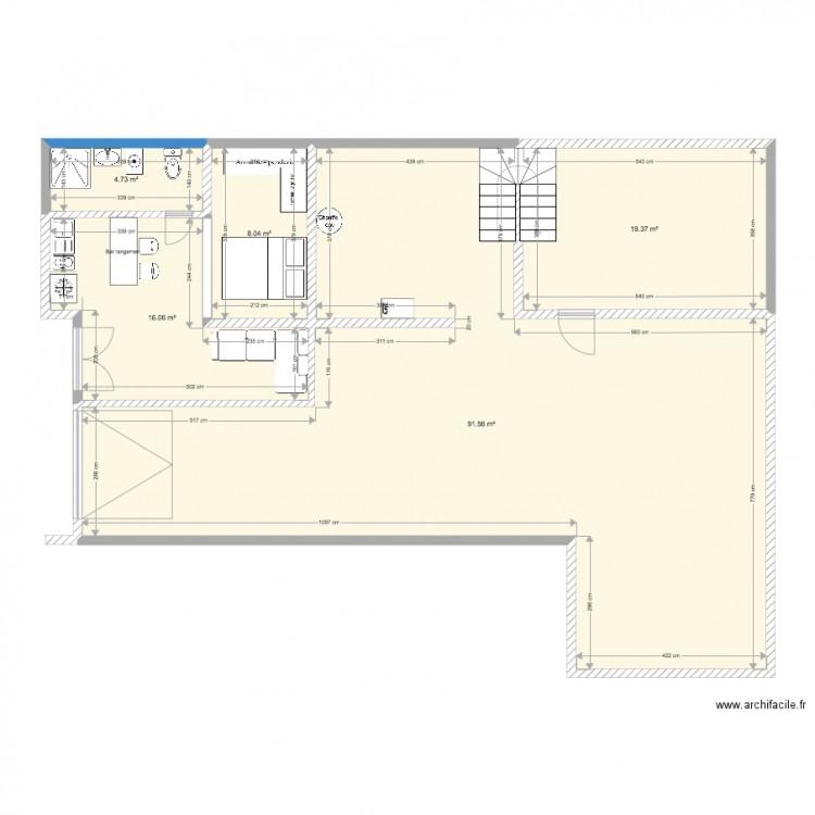 St martin 2 plan 5 pi ces 140 m2 dessin par charlyne74 - Consommation electrique moyenne maison 140 m2 ...