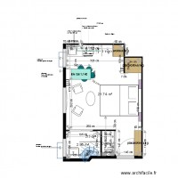 Plan projet 4 appartement MOLINARO