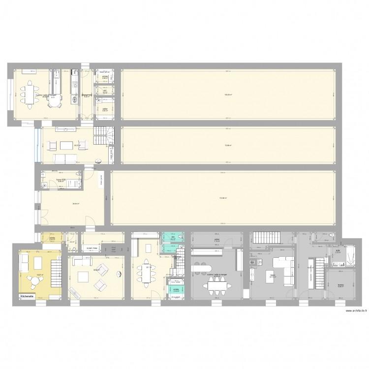 mignovillard entr e nord ter plan 205 pi ces 3891 m2. Black Bedroom Furniture Sets. Home Design Ideas