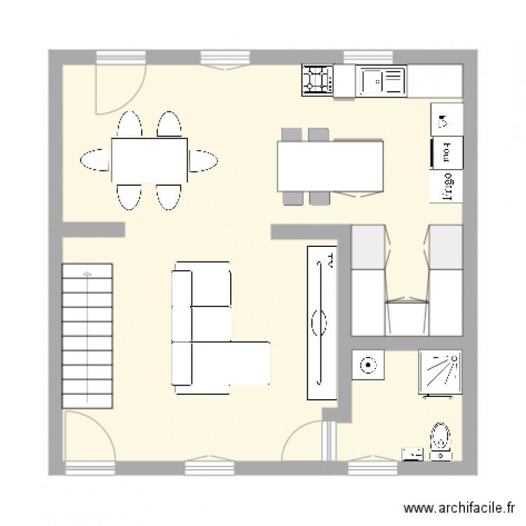 plan maison 49m2