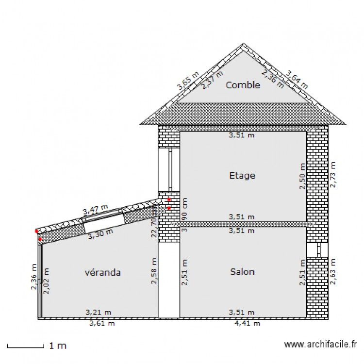 Plan de coupe v randa nouvelle construction plan 4 for Plan de construction en ligne