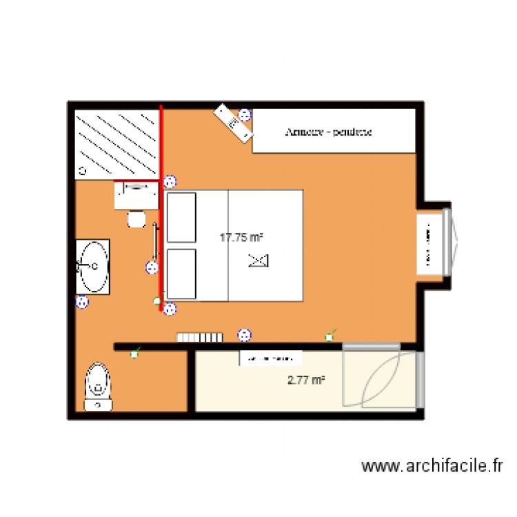 Suite Parentale Plan 2 Pièces 21 M2 Dessiné Par Berniecorsica