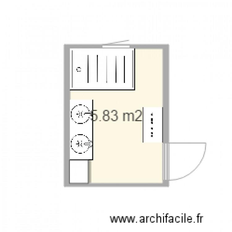 salle de bain 1 plan 1 pi ce 6 m2 dessin par hog. Black Bedroom Furniture Sets. Home Design Ideas