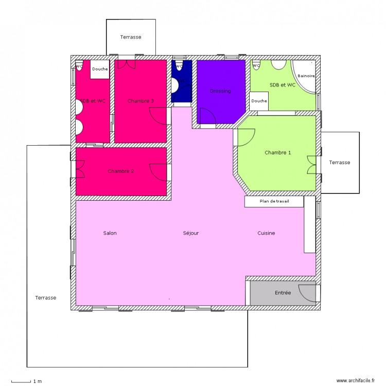 Devoir maison de technologie plan 12 pi ces 218 m2 for Aide devoir maison