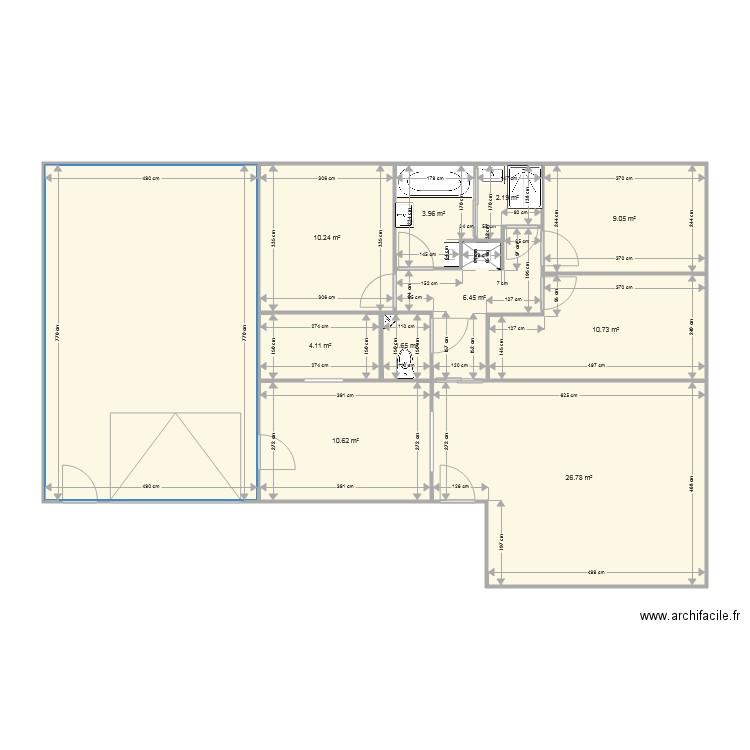 Maison 85m2 Coin Nuit Separe Plan 11 Pieces 124 M2 Dessine Par Zazza