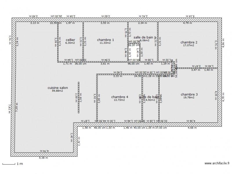 Plan Mikit 8 Plan 8 Pieces 139 M2 Dessine Par Maison Plein Pied
