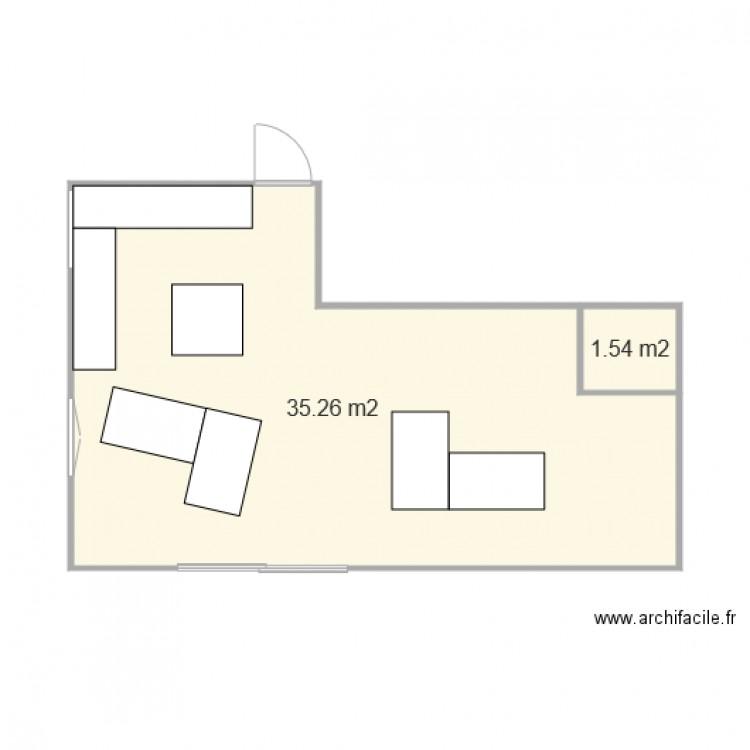 Plan Maison Plan 2 Pi Ces 37 M2 Dessin Par Jerem74910