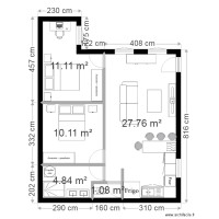 appartement t3 modele 2
