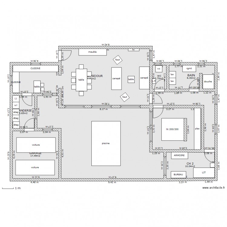 Maison Contemporaine Avec Piscine Interieure 14