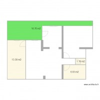 Appartement anse 37m plan 4 pi ces 37 m2 dessin par for Du tellier meuble