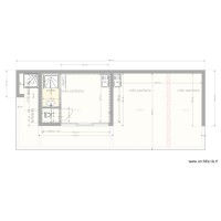 plan pool house villa leonie fondation