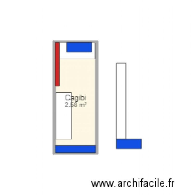 Cagibi Plan 1 Pi Ce 3 M2 Dessin Par Laetissia