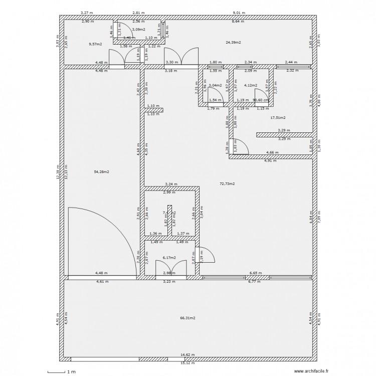 Ma maison au mali plan 11 pi ces 269 m2 dessin par for Dessine ma maison gratuitement