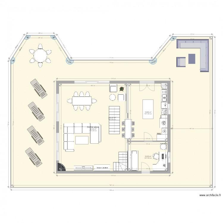 dom pianottoli 1er tage plan 12 pi ces 407 m2 dessin par gonzague 20131. Black Bedroom Furniture Sets. Home Design Ideas