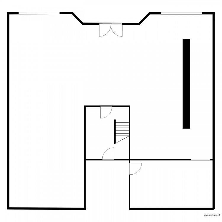 tabac le rallye plan 7 pi ces 33 m2 dessin par rm3324. Black Bedroom Furniture Sets. Home Design Ideas