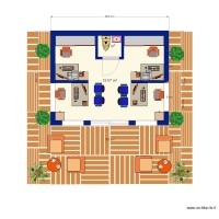 Suite parentale 17m2 alice n3 plan 2 pi ces 17 m2 for Suite parentale 17m2