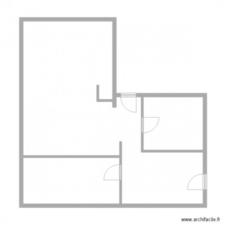 keller strasbourg plan 2 pi ces 20 m2 dessin par lcd 67. Black Bedroom Furniture Sets. Home Design Ideas