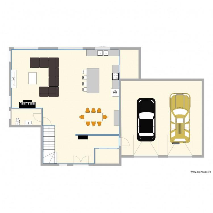 Maison 2 Etage Garage Double Plan 23 Pieces 380 M2 Dessine Par Natashaauclair
