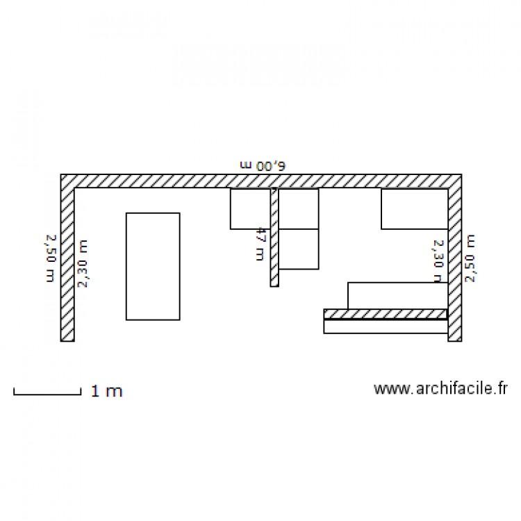 cuisine d 39 t 2 plan dessin par alainviez. Black Bedroom Furniture Sets. Home Design Ideas