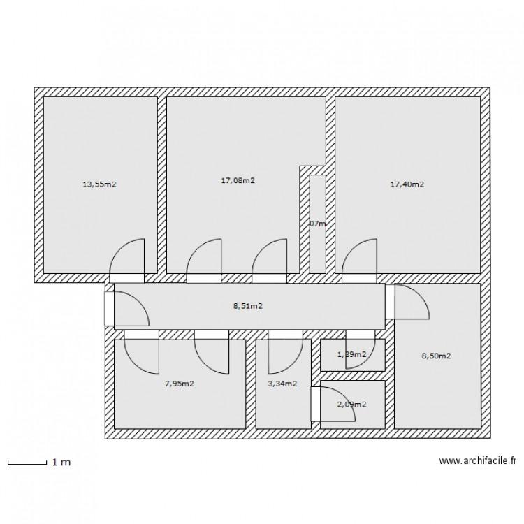 plan appartement 81 m2