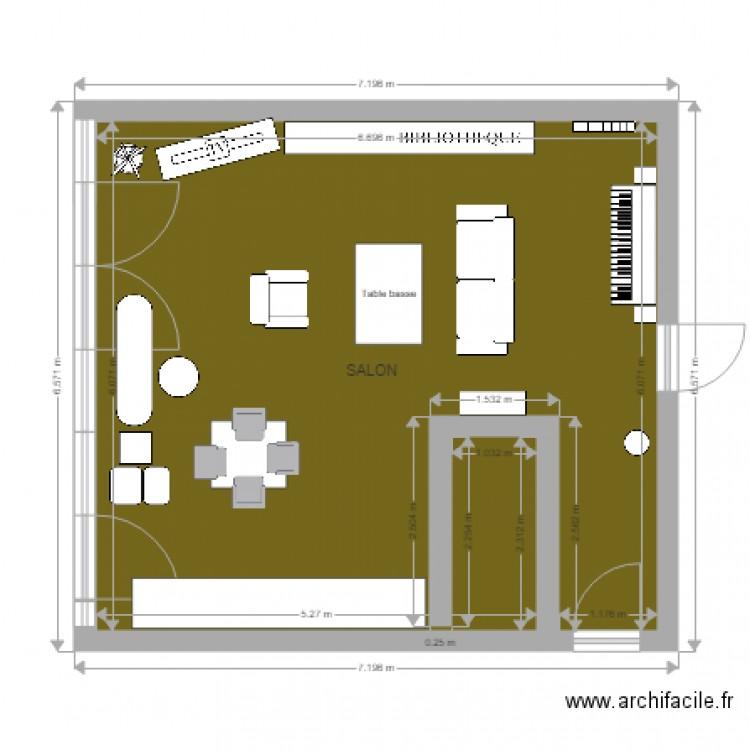 Hikari amenagement bo concept plan 1 pi ce 39 m2 dessin for Bo concept plan de campagne