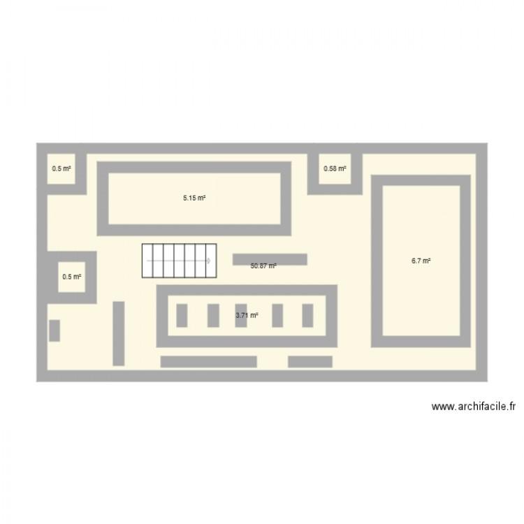 plan de masse darty plan 7 pi ces 68 m2 dessin par edmng. Black Bedroom Furniture Sets. Home Design Ideas