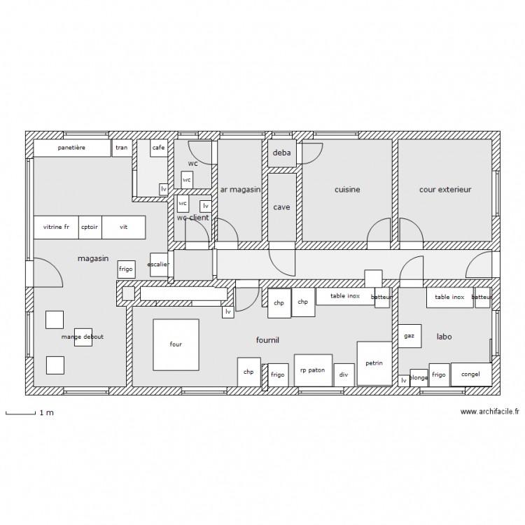 Plan d 39 une maison simple for Plan d une maison simple