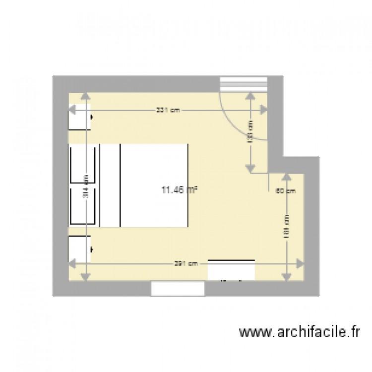 Chambre Option Commande Face Fenetre Plan 1 Pi Ce 11 M2