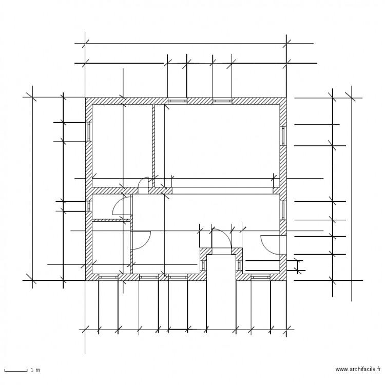 Cotation plan de masse plan dessin par krice57 - Dessiner un plan de masse ...