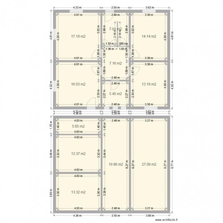 Astgen horbourg plan 12 pi ces 159 m2 dessin par lcd 67 for Piscine gauriaguet